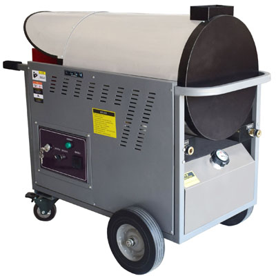 H series mobile 350 Bar high pressure fuel rapid heating system ( used with cold water high pressure washer )