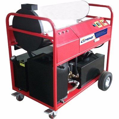 Diesel heating hot water high pressure cleaner CW-DW25E